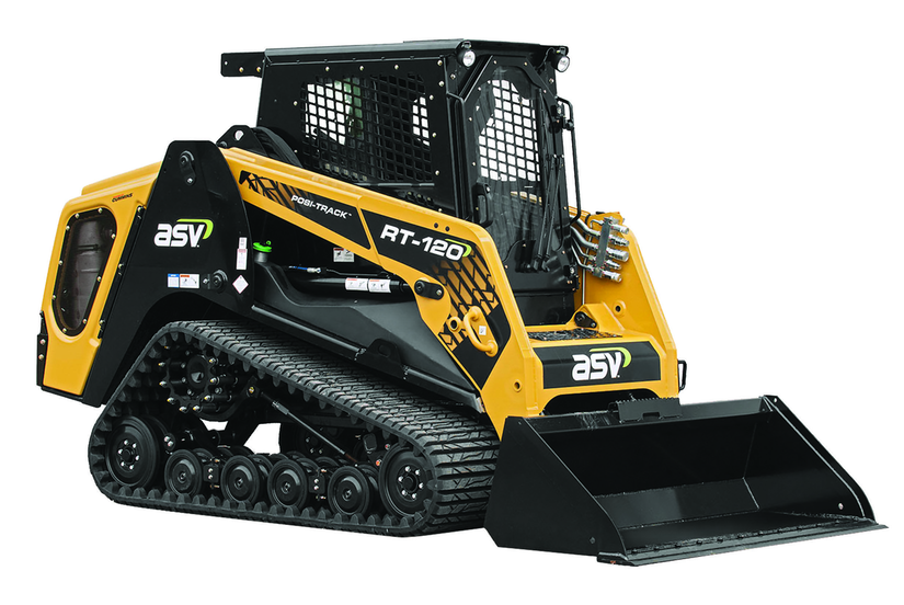 RT-120 ASV compact track loader or CTL