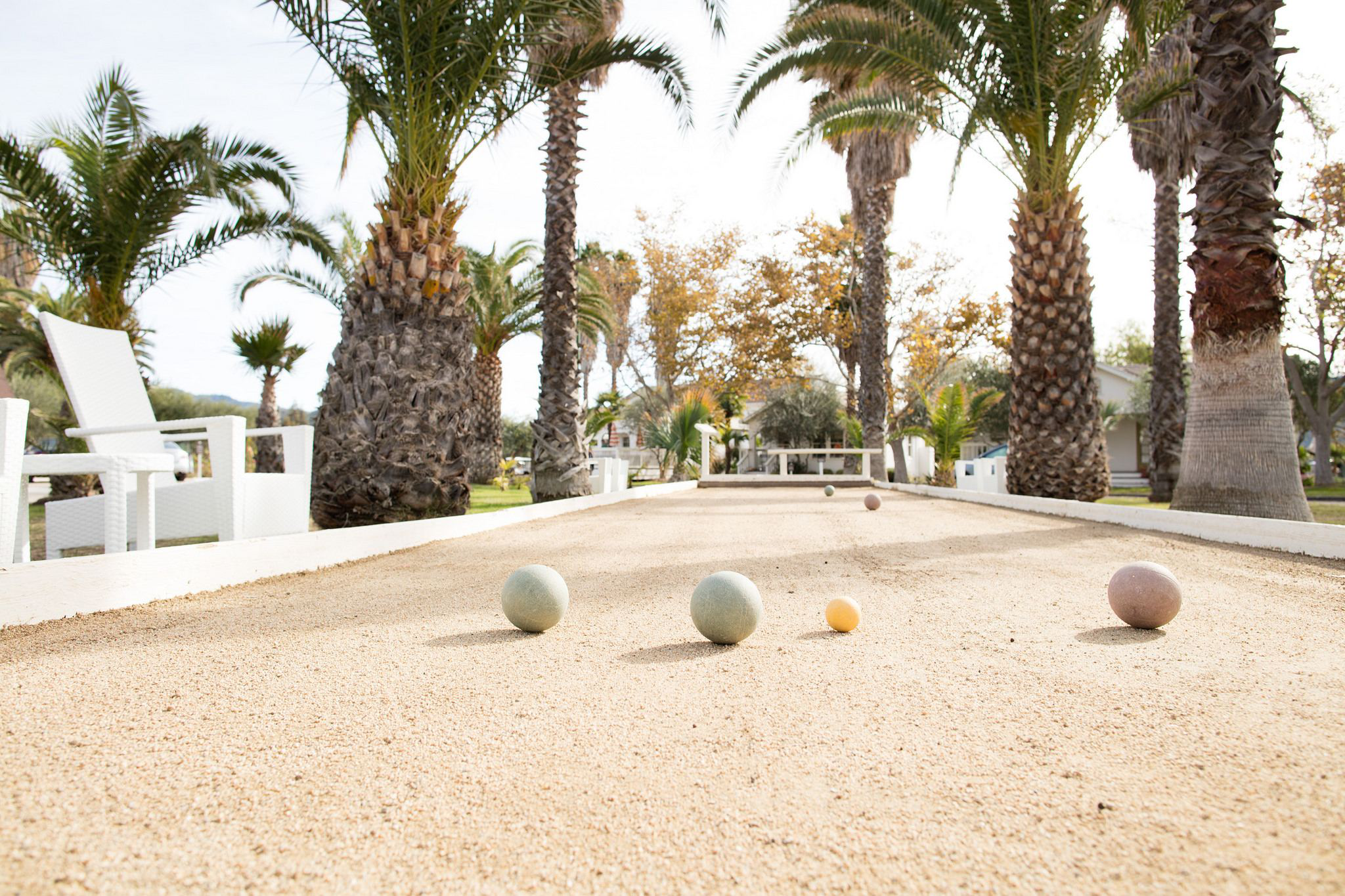 Bocce Ball Court For Your Clients This Summer