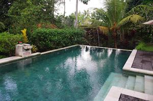 large saltwater pool