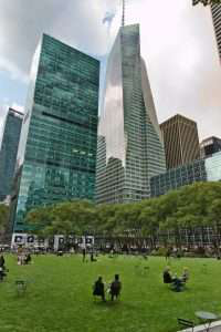 bryant park's great lawn