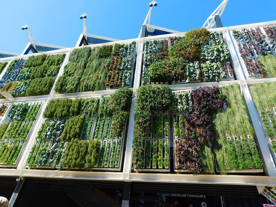 Charmant Large Vertical Garden In Milan