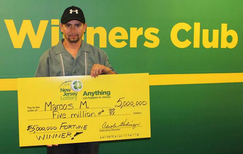 local landscaper winner of the NJ lottery