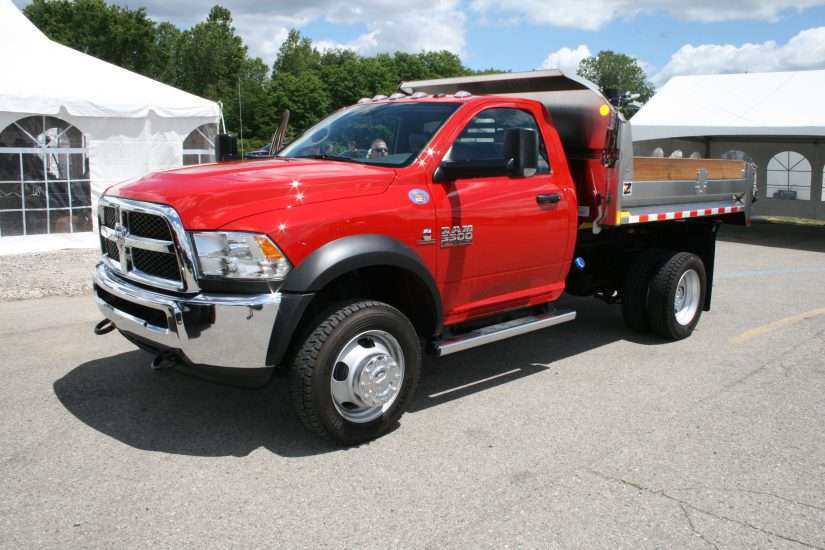 dodge ram 5500 red truck