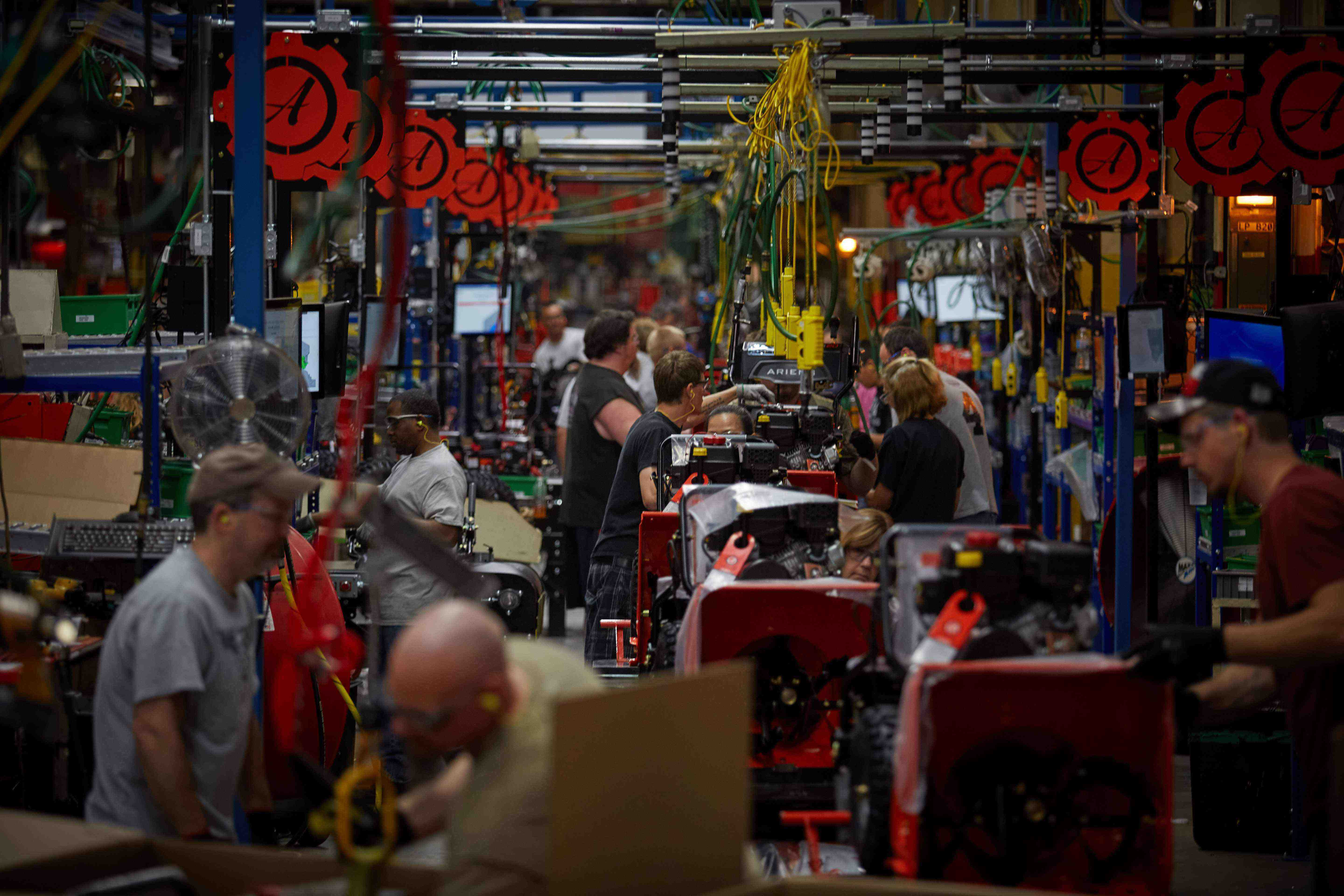 Take A Look Inside Ariens Brand New Manufacturing Plant