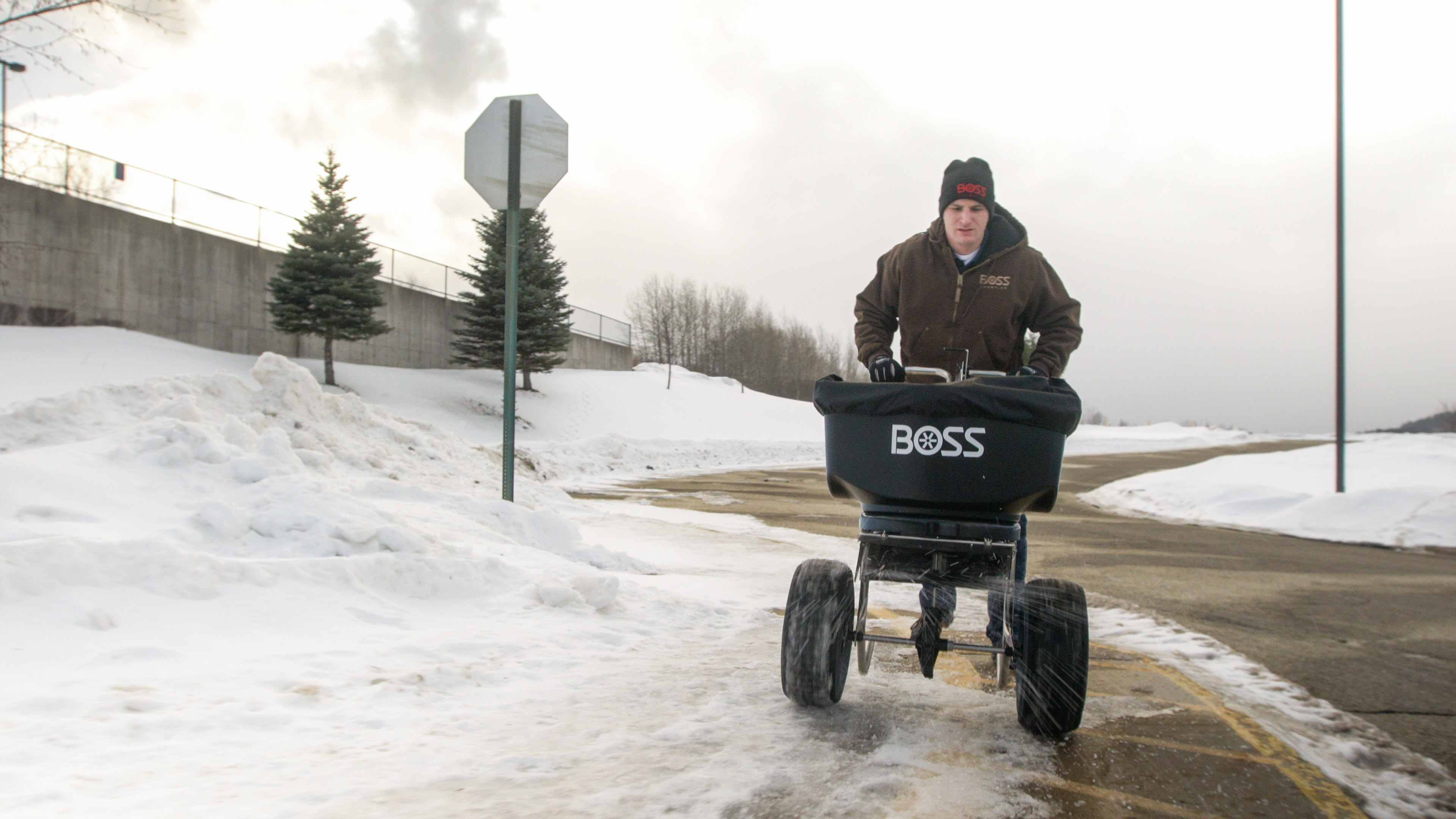 New And Improved Snow And Ice Products From Boss Snowplow