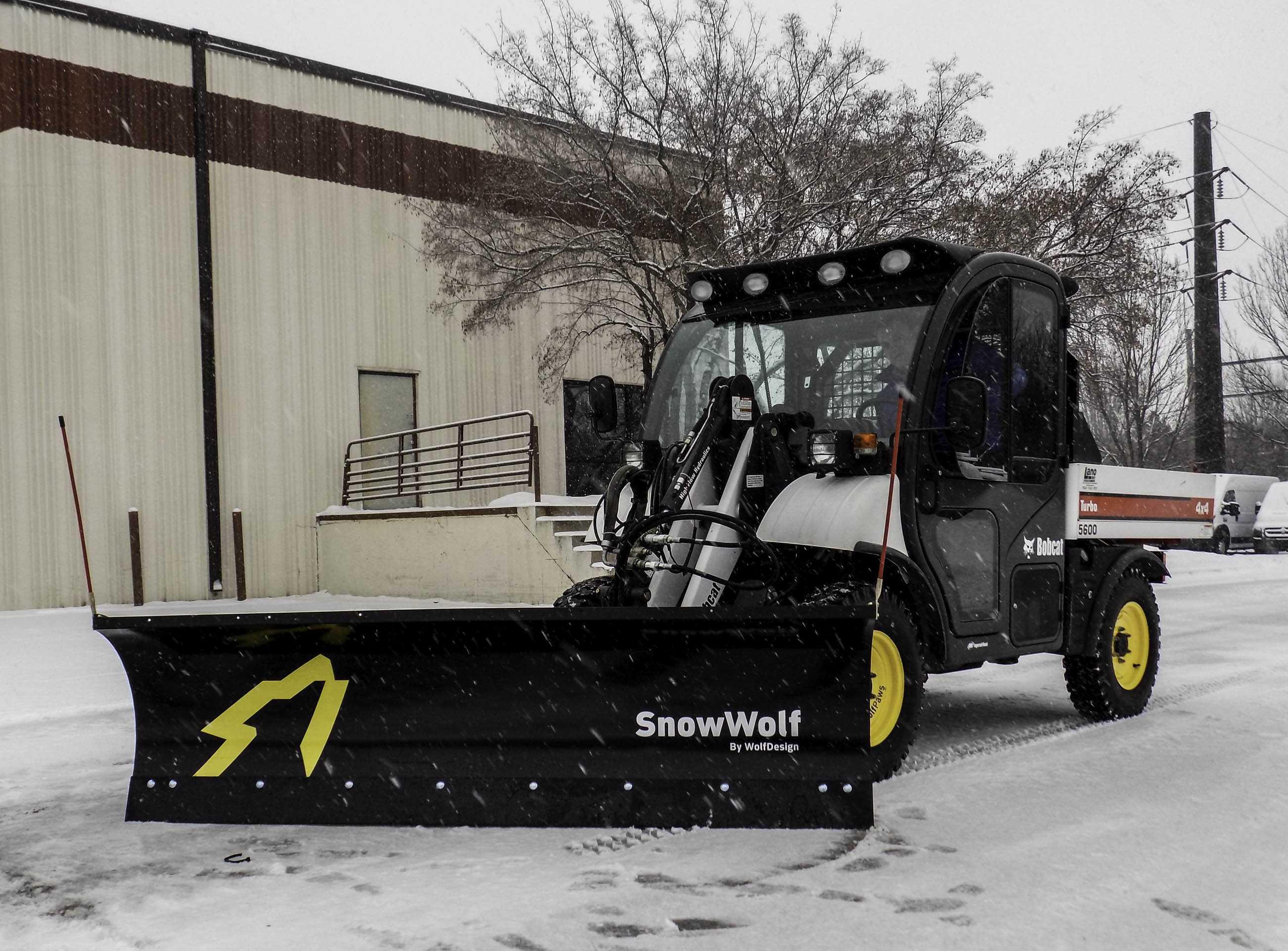 snowwolf plow attachment