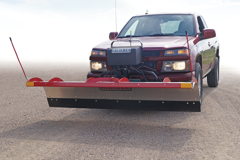 Hiniker's tilt-lift plow