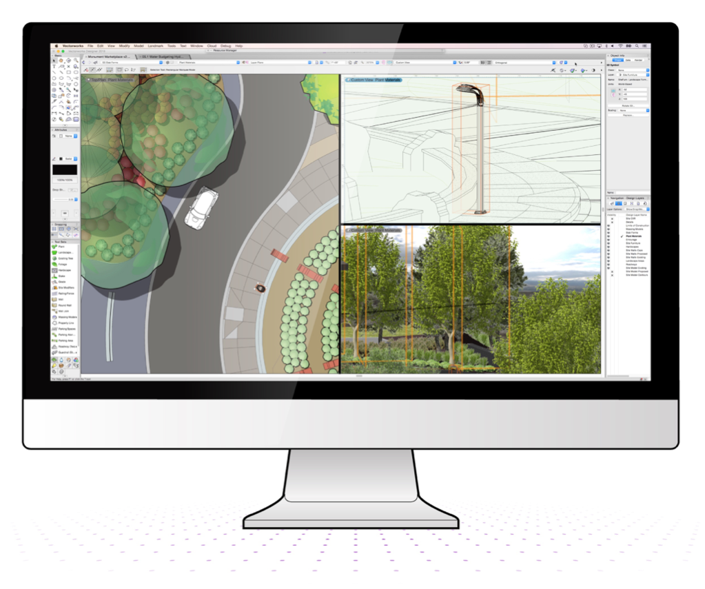 Home Landscape Software Features: Vectorworks' Latest Software Features Help You Work Smarter