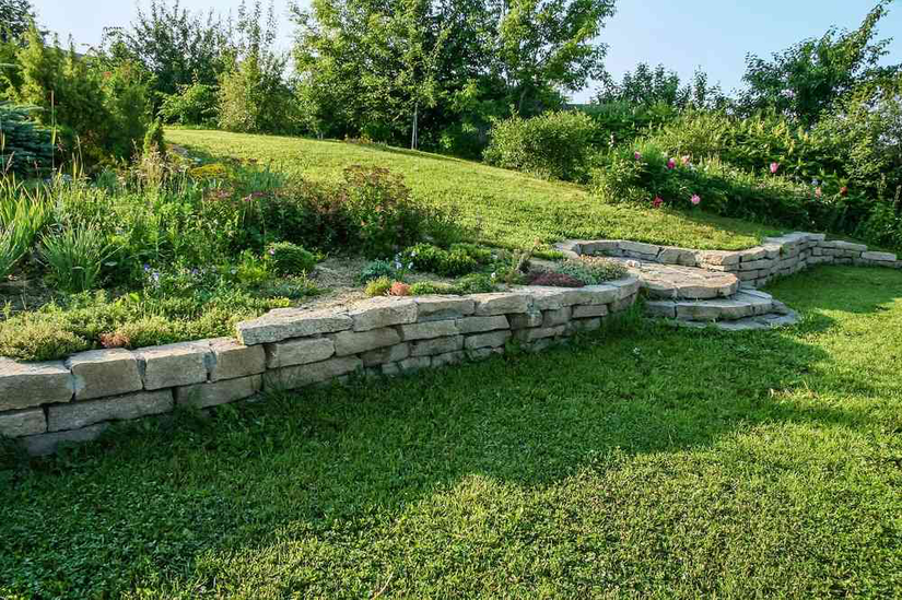 Avoiding erosion and rainwater runoff in your client's yard