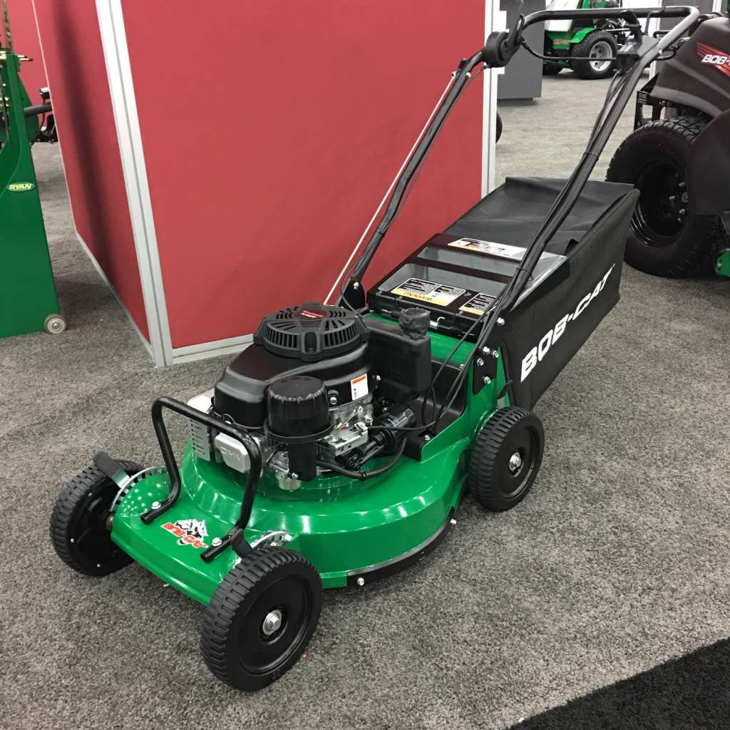 Brand new zero-turn mower and model designs from Bob-Cat