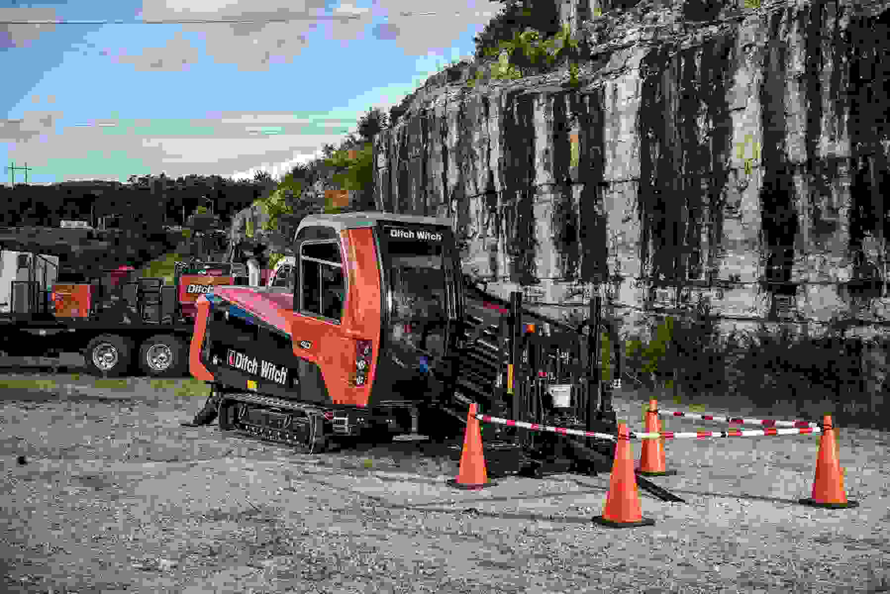 Ditch Witch Debuts Brand New Horizontal Directional Drill