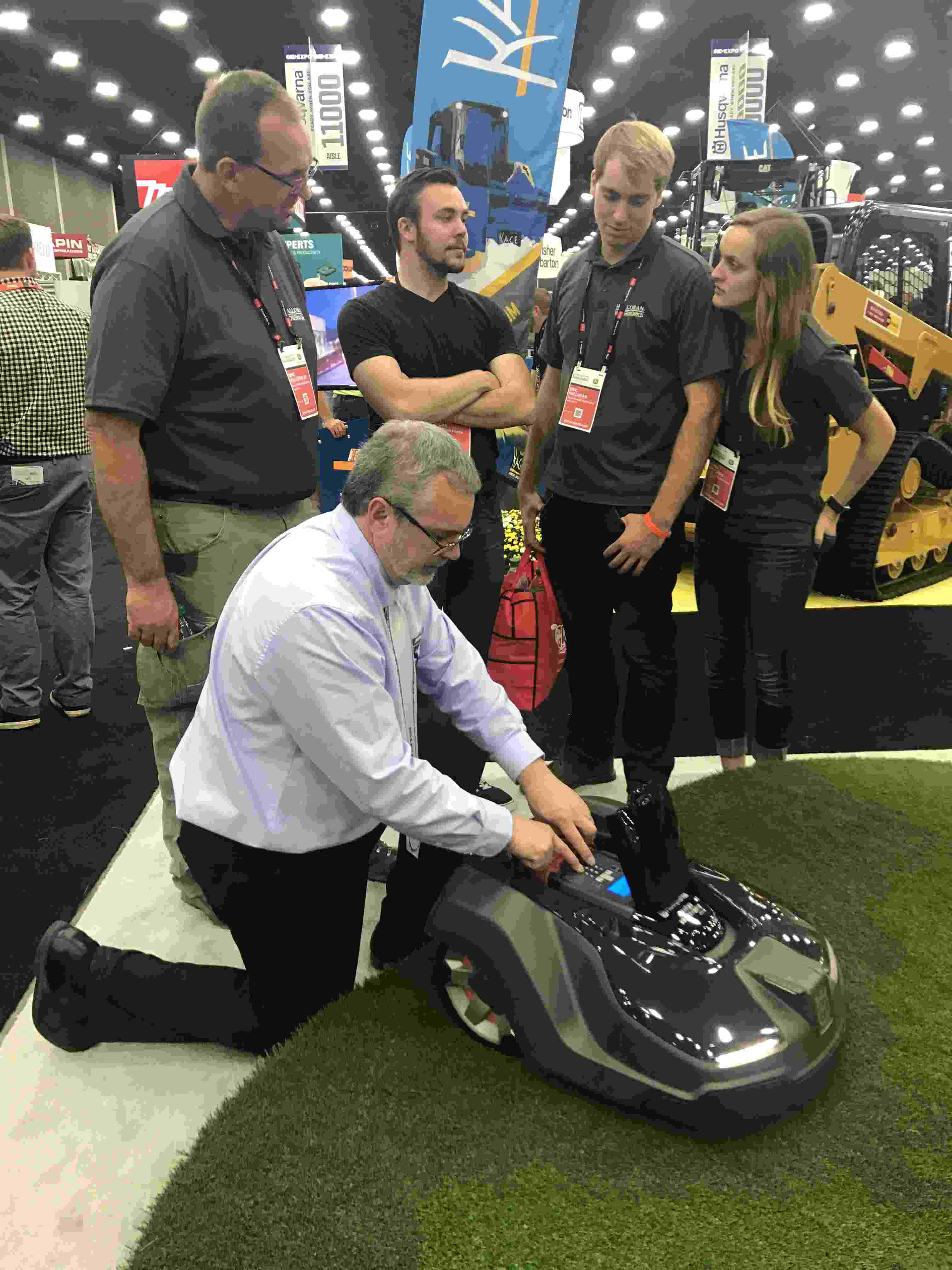 Husqvarna Debuts Brand New Mower And More At 2017 Gie Expo