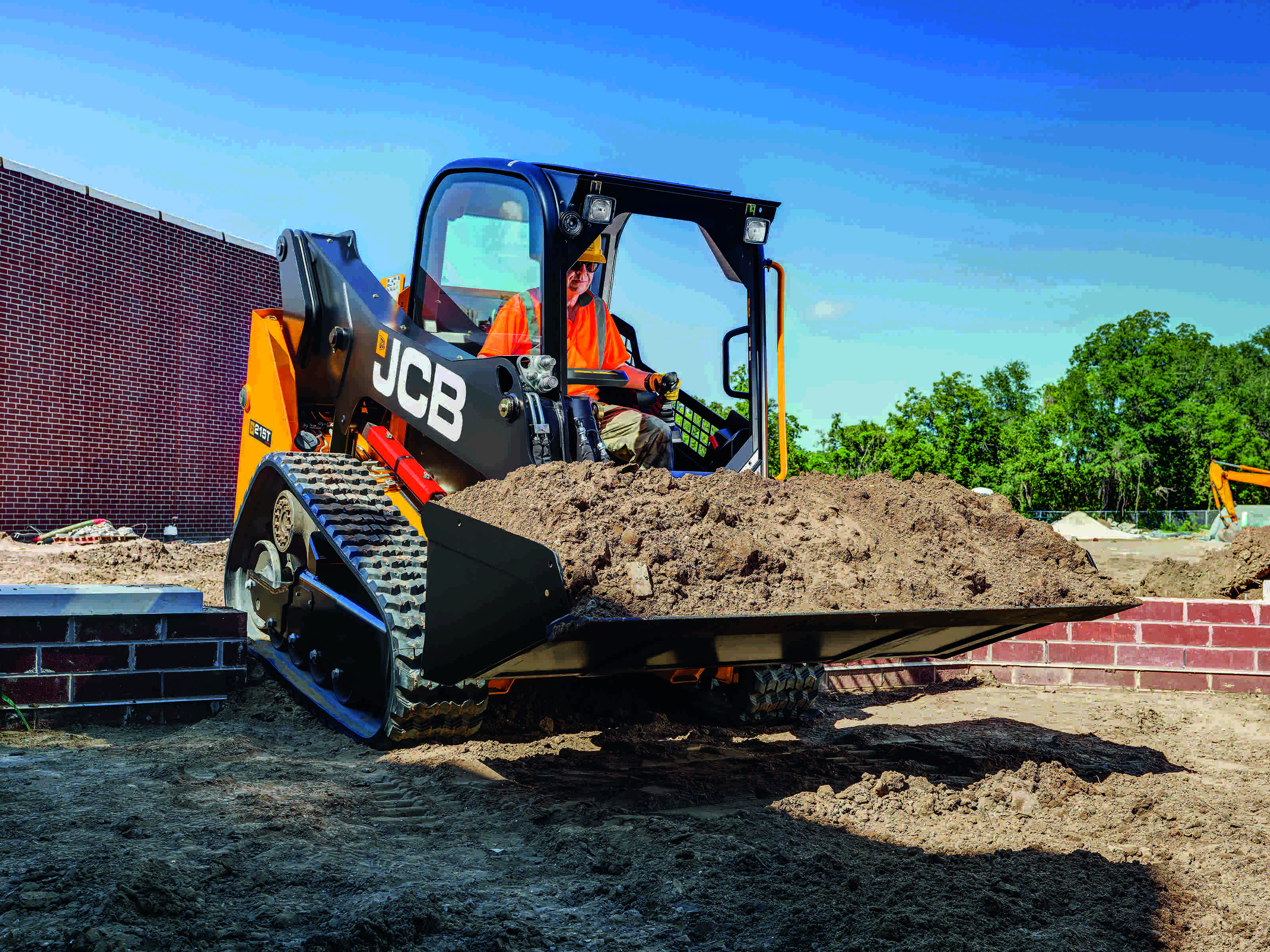 JCB's new compact track loaders are small but powerful