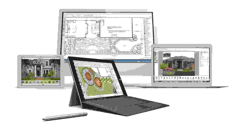 drafix software designs on computers and tablets
