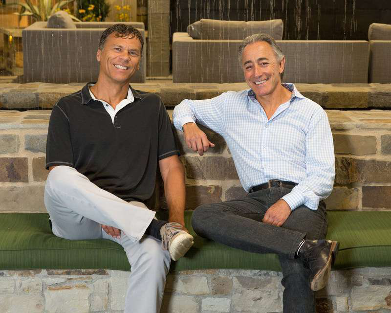 President Doug Lueck and CEO Larry Green of System Pavers