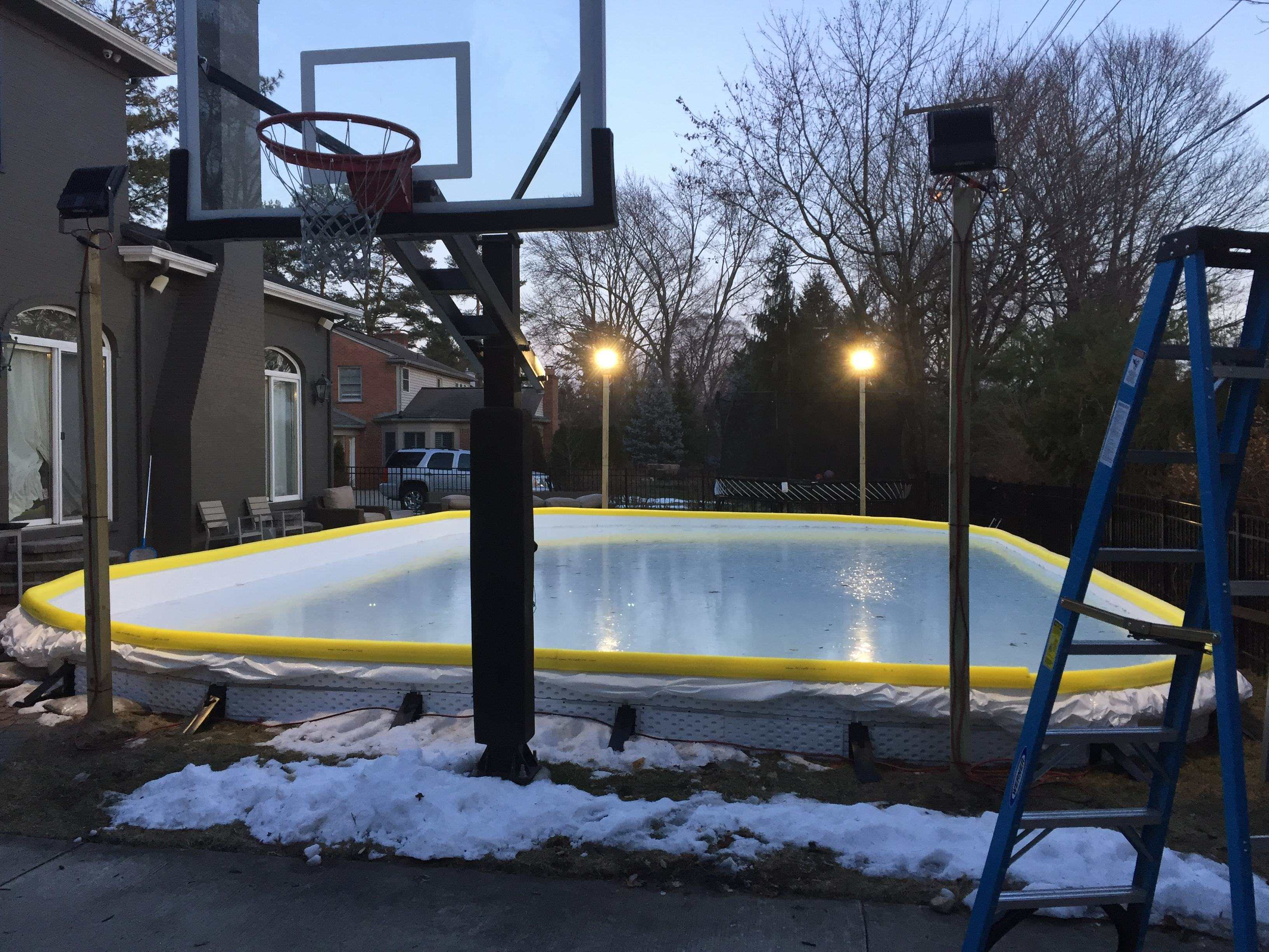 100 backyard ice rink my backyard ice rink 2015 imgur