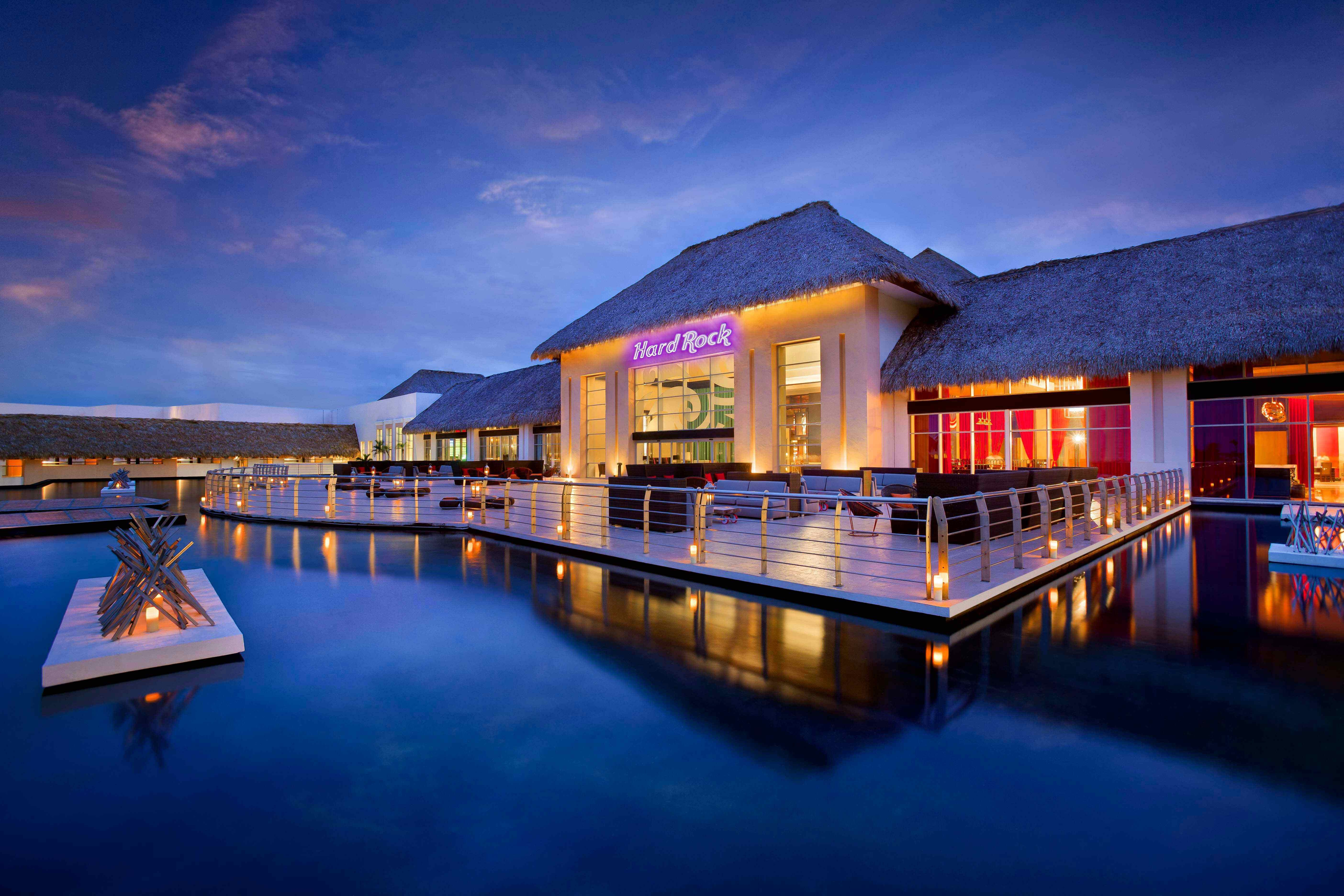 hard rock cafe and Casino in Punta Cana