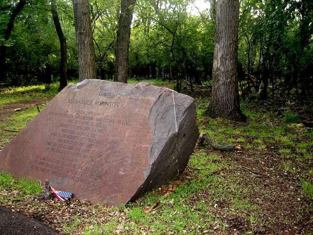 stone at robinsons woods