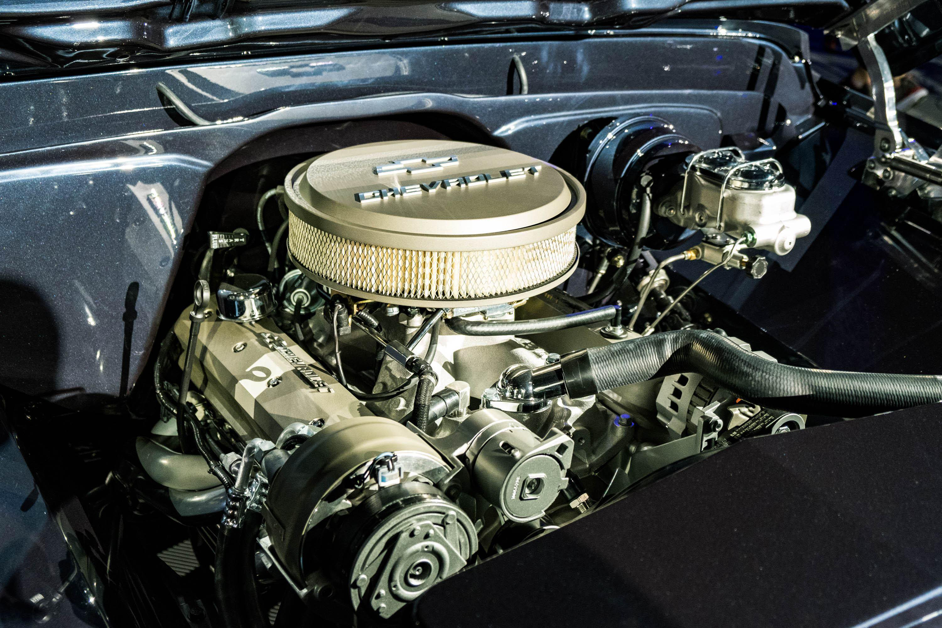 Under the Hood of Chevy Truck