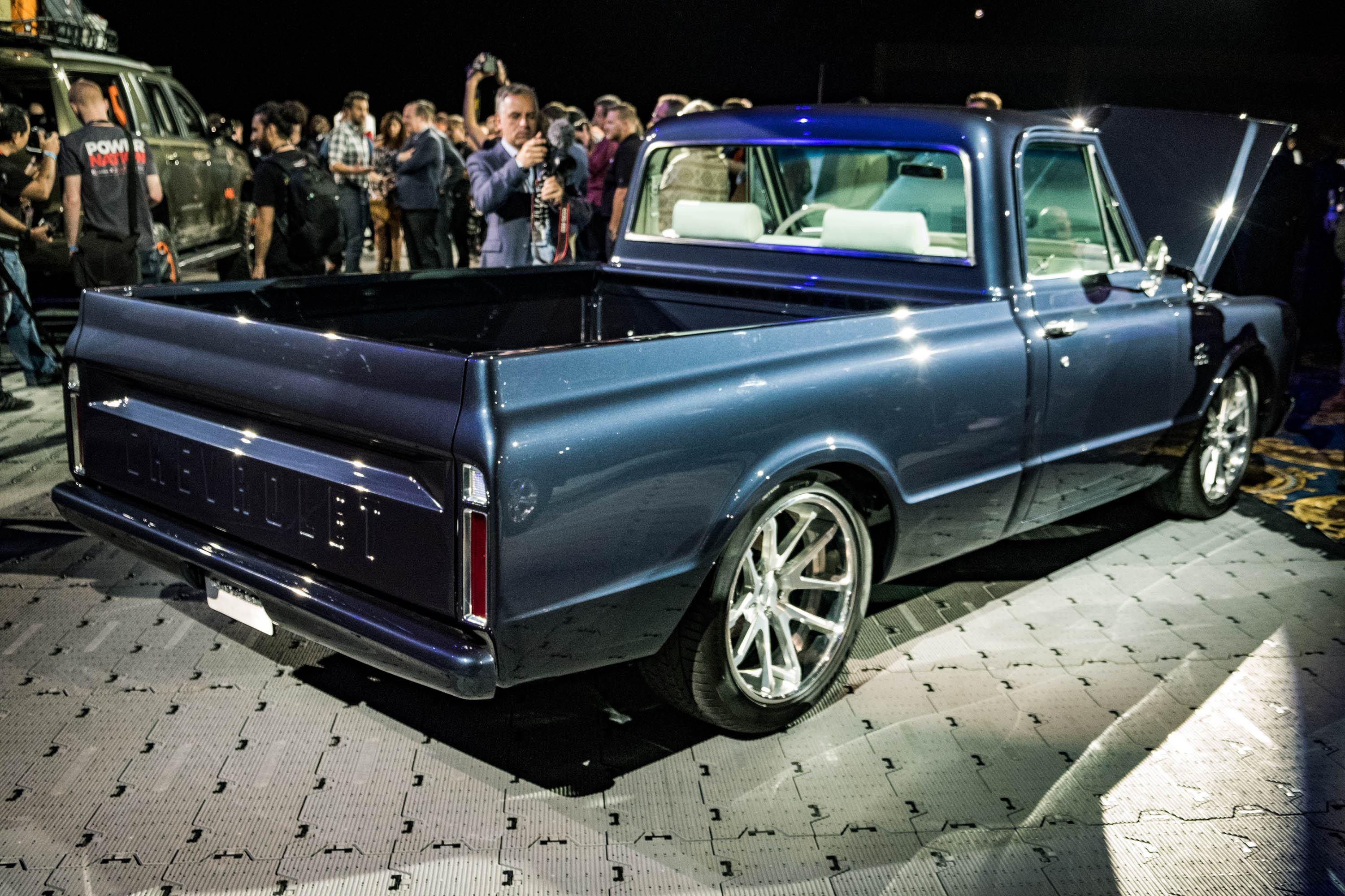 Bed of Vintage Chevy Truck