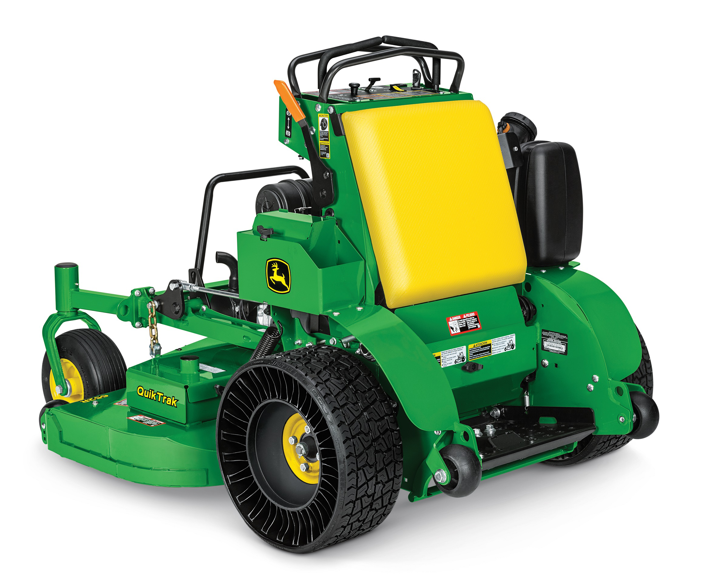 John Deere offers Airless Radial Tire for stand-on mowers