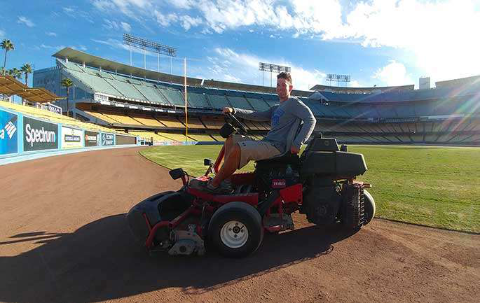Blake Bernstein on toro mower
