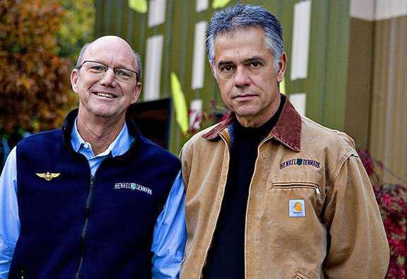 Gordon Denmark and Bill Henkel founders of Henkel Denmark