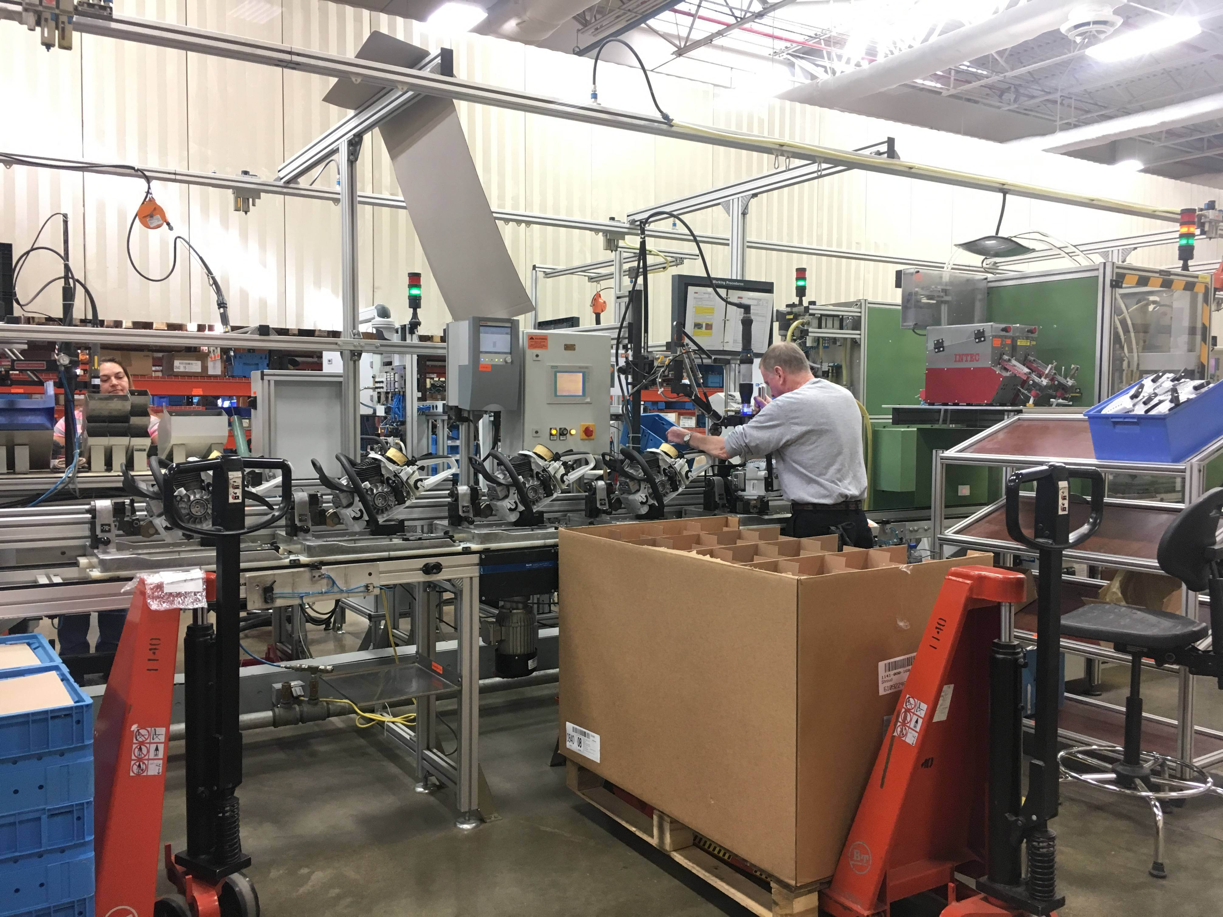 Behind the scenes at Stihl's Virginia Beach plant