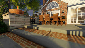 DuChene Design Solutions hardscape patio
