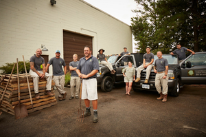 team at cartwright landscaping