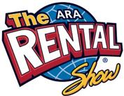 the ara rental show logo