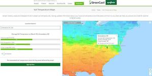 tracking soil temps