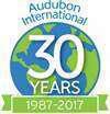 audubon international 30 years logo