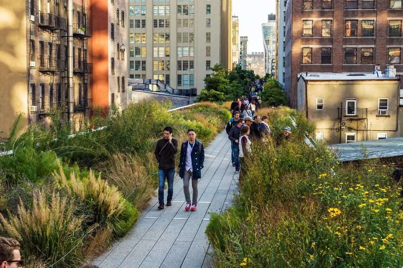 Photo of The High Line Park in New York City