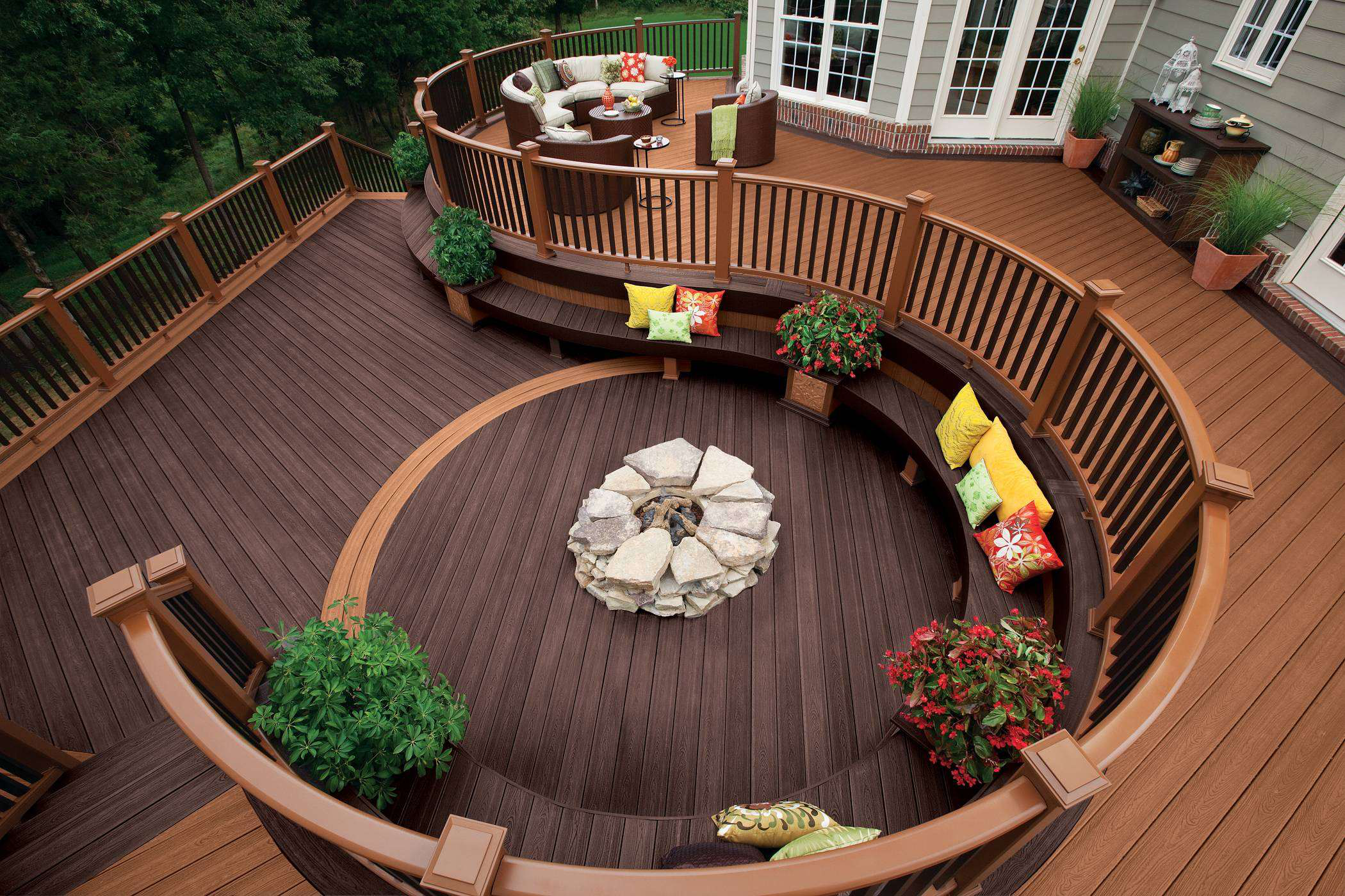 Unique deck design ideas for your client