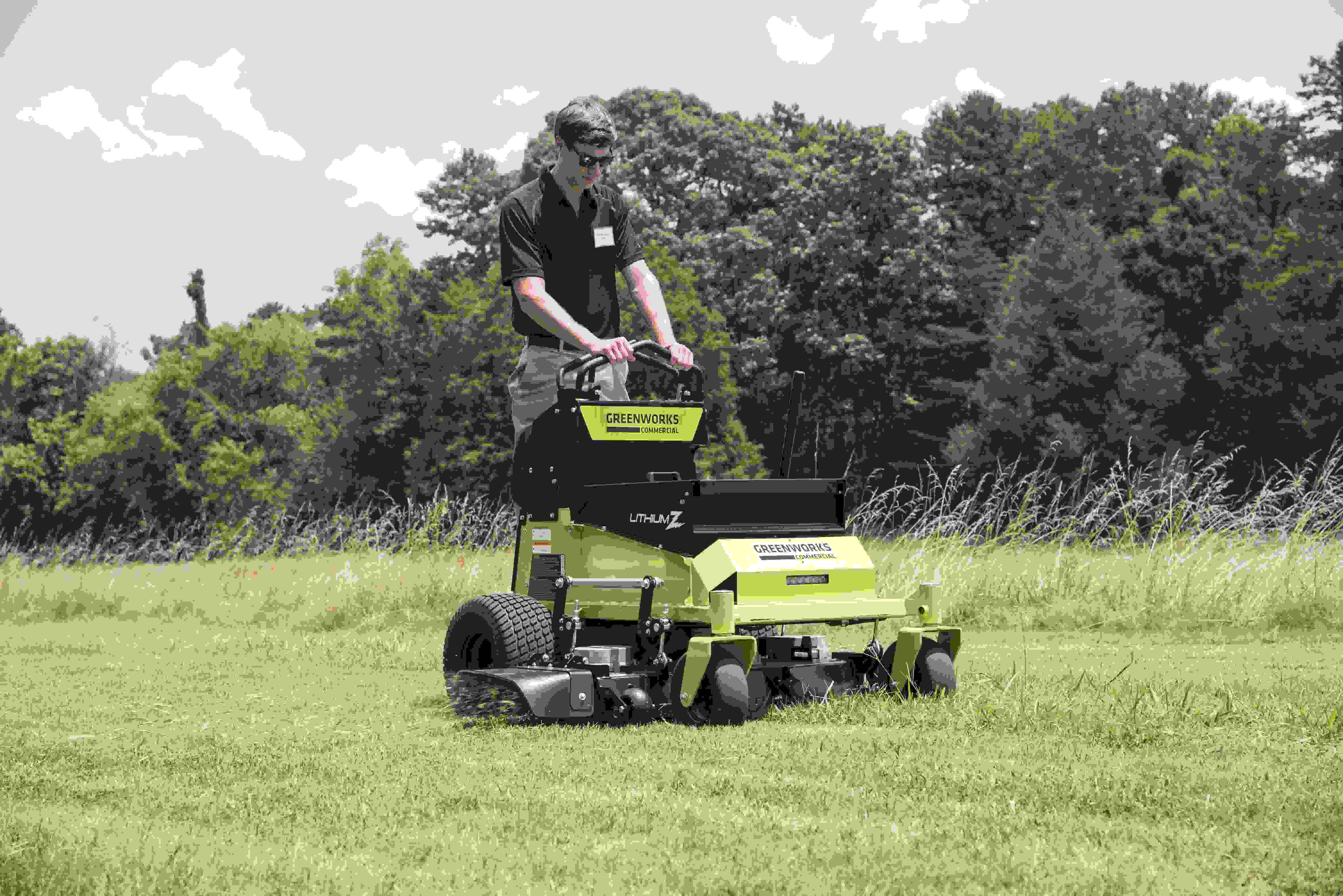 Greenworks offers 1st battery powered ZTR & Stand-On Mowers