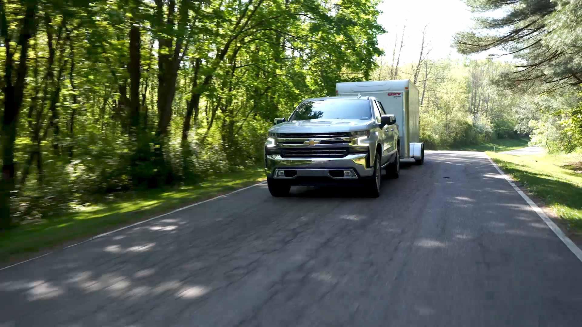 Chevrolet Silverado 2019 Gets New Towing Features