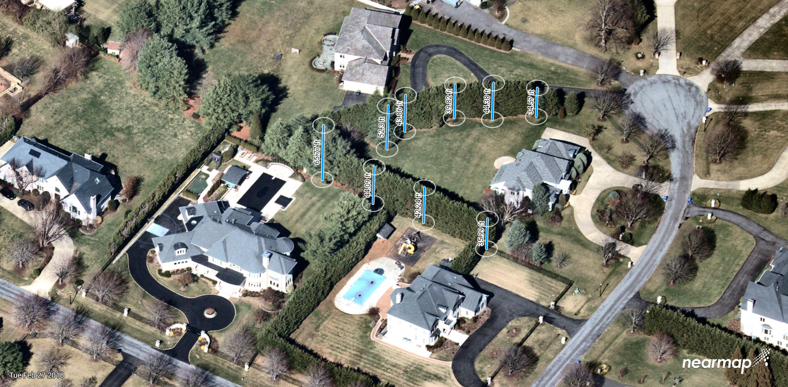 High-res aerial imagery solutions for landscapers