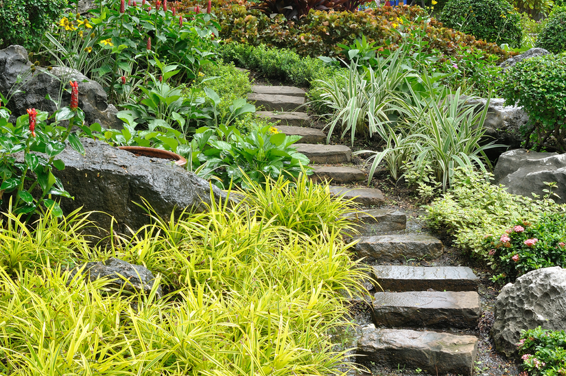 Landscape Design Tips For Landscaping On A Slope