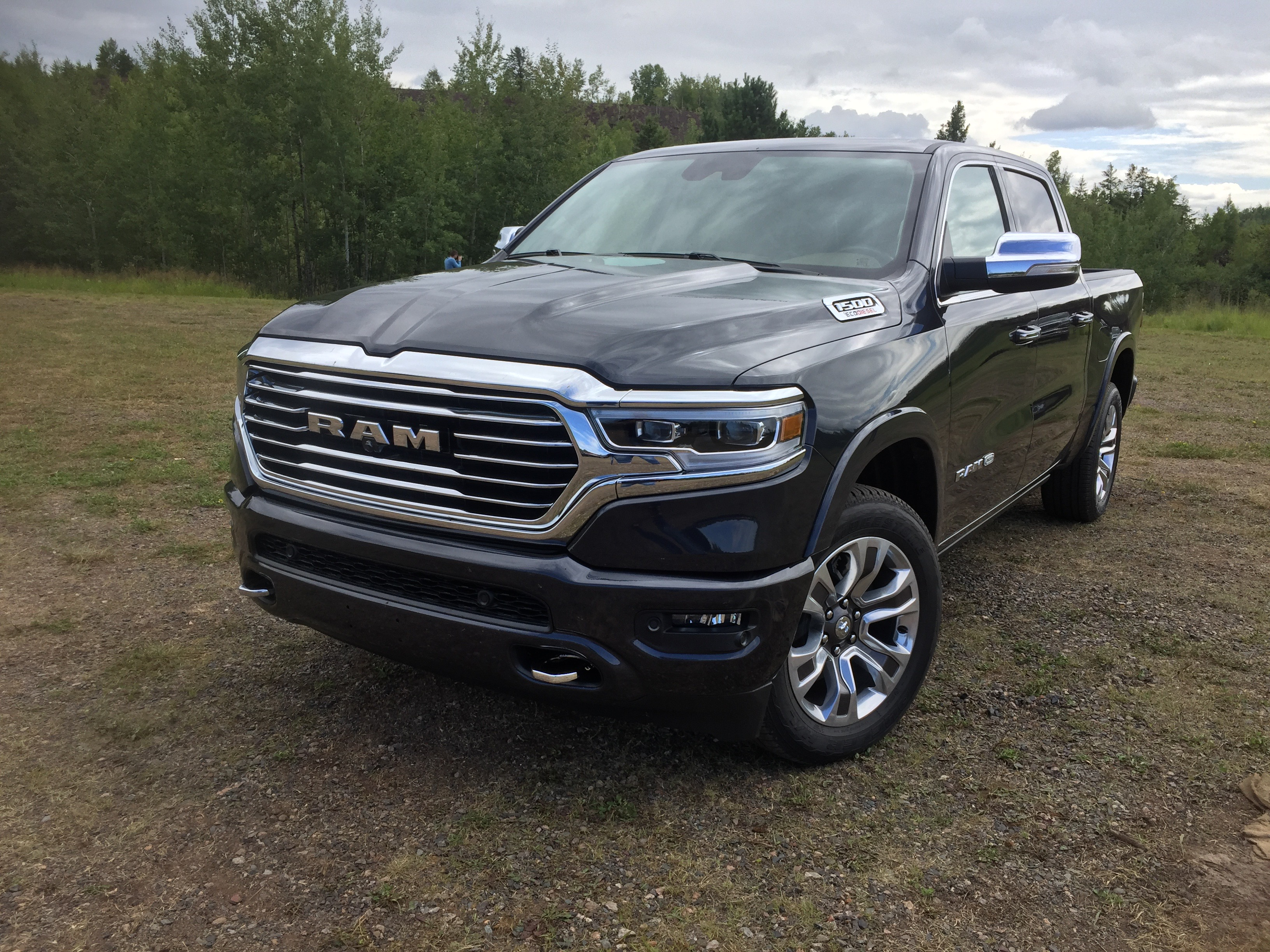 Test Drive 2020 Ram 1500 Ecodiesel Delivers Impressive Power And