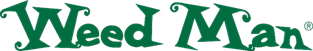 Logo for Weed Man lawn care franchise