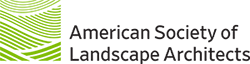 logo for the american society of Landscape Architects