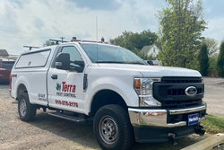 Terra Pest Control vehicle